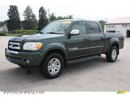 2005 Toyota Tundra SR5 Double Cab 4x4 in Timberland Green Mica ...
