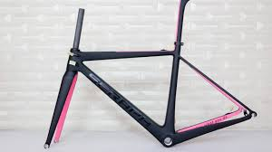 seraph new design carbon road bicycle frame accept custom paint frame