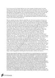 essay on great expectations essay on the book great expectations year 11 sace