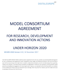 H2020 Model Consortium Agreement