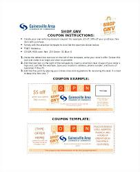 Sample Coupon Template Create Your Own Free Coupons Misdesign Co