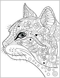 Detailed Animal Coloring Pages Owl Hard Cute Advanced Printable