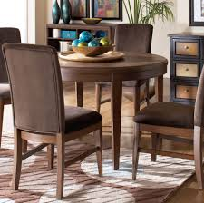beaumont brown cherry round dining table