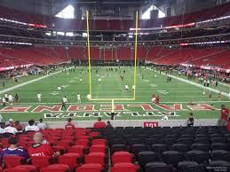Atlanta Falcons Seating Chart With Rows Mercedes Benz Stadium Section 101 Atlanta Falcons