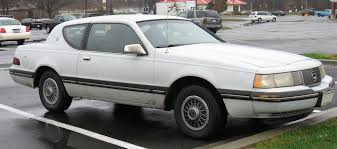 1987 - Mercury Cougar | Mercury Cougar | Pinterest