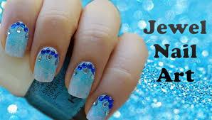 Jewel Nail Art - Gioiello - YouTube