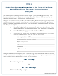 Will Form Free Pennsylvania Living Will Form PDF EForms Free Fillable Forms 10