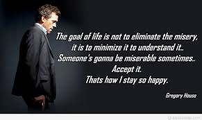 goal gregory house quote with photo
