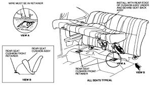 1997 thunderbird backseat removal fixya how do i remove the backseat in my thunderbird