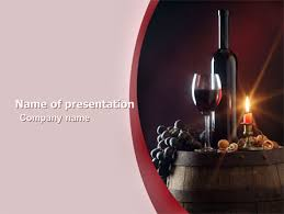 Wine Powerpoint Template Wine Bottle Presentation Template For Powerpoint And Keynote Ppt Star
