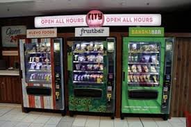Fresh Food Vending Machine Adorable Push Button 4848 Access To Fresh Food Now Available