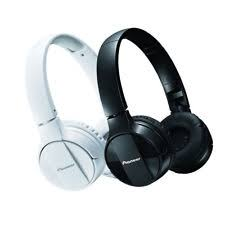 pioneer bluetooth headphones. pioneer bluetooth lightweight on ear wireless stereo headphones black or white