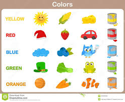 kids color pictures. Unique Color Learning The Object Colors For Kids In Kids Color Pictures D