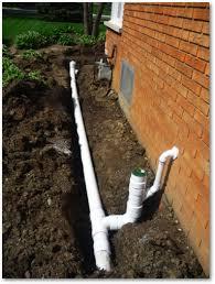 underground gutter drainage. Underground Drainage Systems Gutter A