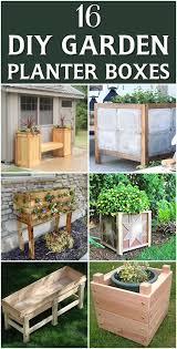 Amazing wooden garden planters ideas try Garden Beds Diy To Try 16 Outstanding Diy Garden Planter Boxes