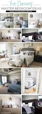 cutting edge stencils shares diy bedroom ideas using stencil patterns on accent walls