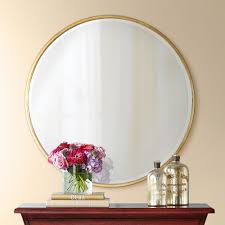 large round wall mirror ideas design of