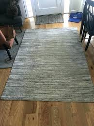 white jute rug grey and beige off black stripe living room white jute rug