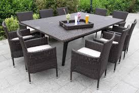bellini home and gardens laredo wicker 12 piece dining set bellini