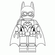 Kleurplaat Lego Batman