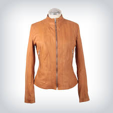 giada nappa leather jacket