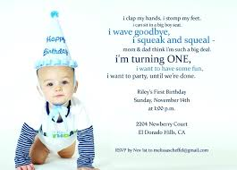 First Birthday Party Invitation Wo Luxury One Year Old Birthday Delectable First Birthday Quotes
