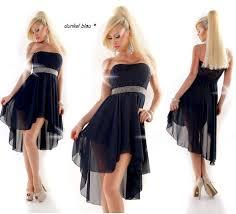 Vokuhila Kleid Abendkleid Abiballkleid vorne kurz hinten lang ...