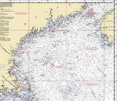 Gulf Of Maine Chart Ship Mates Navigation