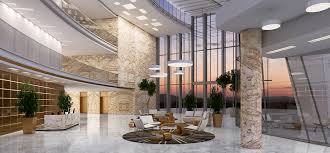 interior lighting. Hotel Interior Lighting Rendering