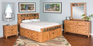 Sedona Rustic Petite Storage Bedroom Suite - E King Size