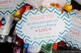 Thank You Notes For Nurses Labor And Delivery Nurse Thank You Bags Unoriginal Mom