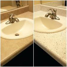 refinish bathroom countertop refinished laminate counters painting marble bathroom countertops