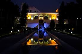 the gardens at night mughal gardens in pinjore