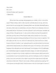 speech essay lifestyle makeover