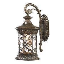 titan lighting marius collection 1 light hazelnut bronze outdoor sconce