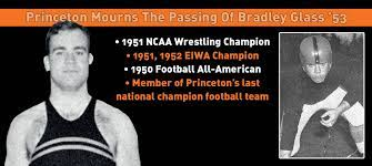 Princeton Mourns The Passing Of Wrestling, Football Great Bradley Glass '53  - Princeton University Athletics