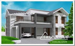 Small Picture sloping roof house designs kerala KeralaHousePlanner