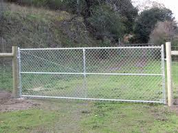 chainlink driveway gates cldg1 cldg2 cldg3 cldg4