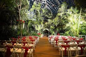 botanical gardens wedding ceremony wedding ceremony amazing setup