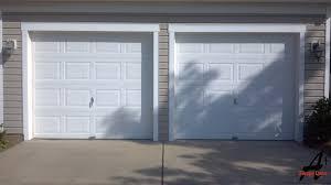 tremendous double garage door convert double garage door to single convert double garage door to