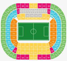 Stadium Allianz Arena Munich Seating Plan Transparent Png