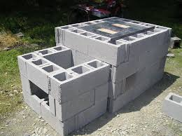 Cinder Block Outdoor Kitchen I Want To Build One For The Year And Roast A Whole Pig And Throw