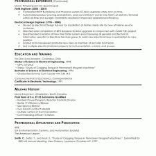 Resume Examples Electrical Engineering Template Mechanical Cv