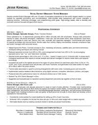 Retail Assistant Manager Resume Objective Management Resume Samples Manager Templates Retail Store Resumes 35