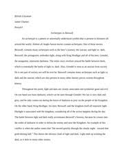 odyssey essay jaime chartier odysseus the epic hero in the 2 pages archetypes in beowulf essay