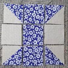 The Spool Quilting Block & the half squares in a spool quilt block Adamdwight.com