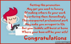 Congrats On Your Promotion Congratulations For Job Promotion Poems For Promotion At