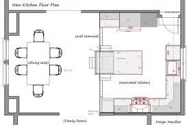 Unique Kitchen Floor Plans Shaped Kitchen Floor Plans Kitchen Design Ideas