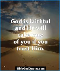 Trust In The Lord Quotes Stunning God Will Take Care Of You Bible Verse Kjv Astonishing Trust Bible