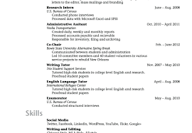 College Resumes Good Examples Of Resumes For College Students